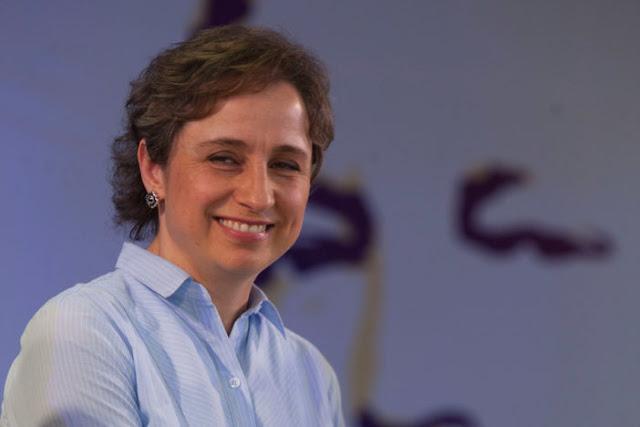 Carmen Aristegui recibe premio a la libertad de expresión (VIDEO)