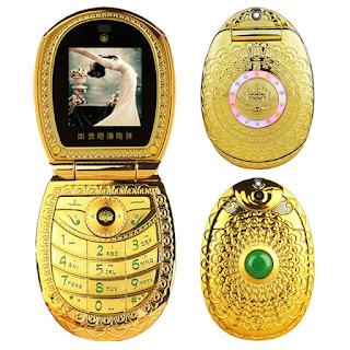 Spesifikasi Hape Mewah Mafam U1 Flip Lotus Flower Metal Luxury Phone