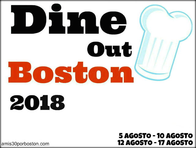 Dine Out Boston Agosto 2018