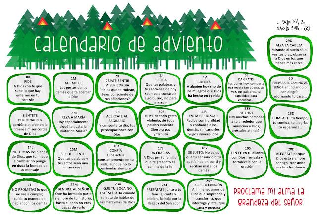 Recursos Para Mi Clase Calendario De Adviento Patricia
