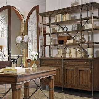 farmhouse open storage stanley furniture