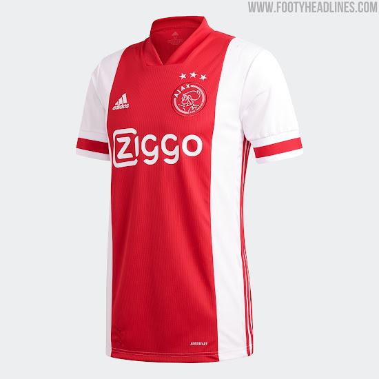 Adidas Ajax 20-21 Home Kit Released - Footy Headlines
