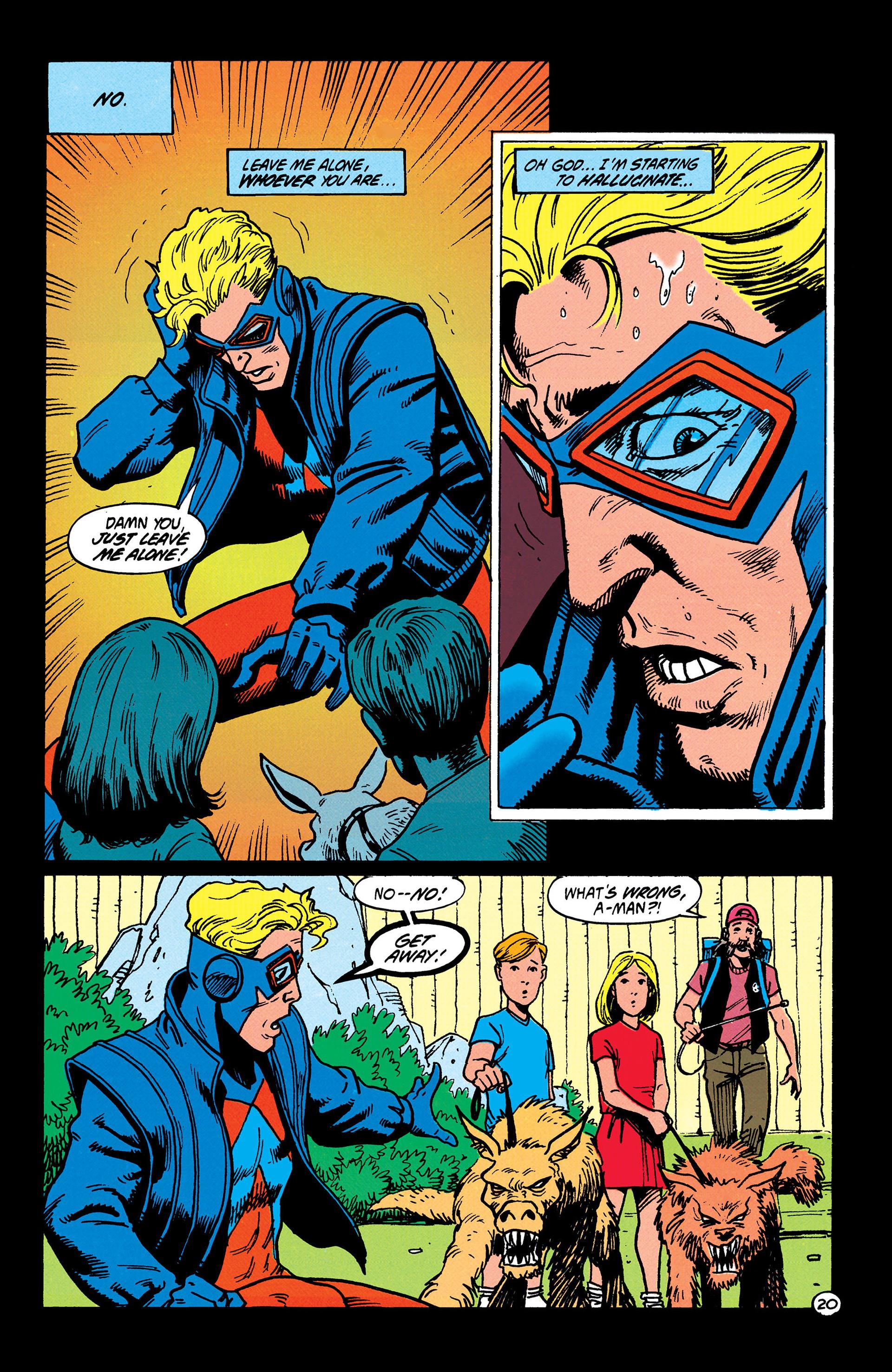 Read online Animal Man (1988) comic -  Issue #37 - 21