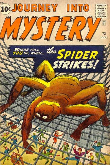 Journey Into Mystery Marvel Comics