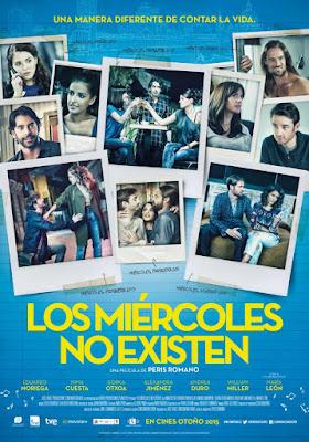Los Miércoles No Existen 2015 DVD R2 PAL Spanish