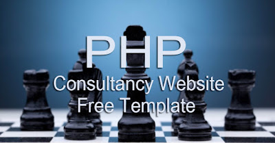 php Consultancy website free Template