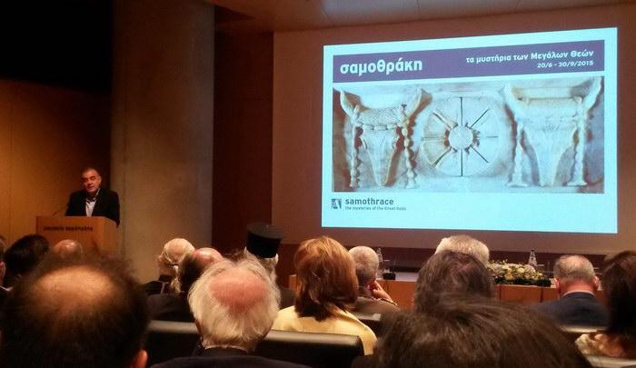 Μεγαλοπρεπής υποδοχή των Μεγάλων Θεών της Σαμοθράκης από το Μουσείο Ακρόπολης