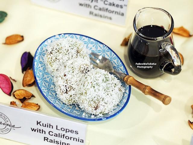 Kuih Lopes With California Raisins