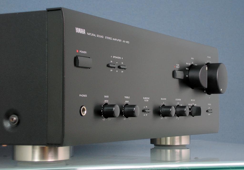 Inside Hi Fi Yamaha Ax 450