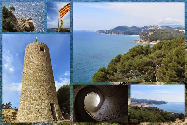 Castell Sant Joan Lloret de Mar, Costa Brava, Spain