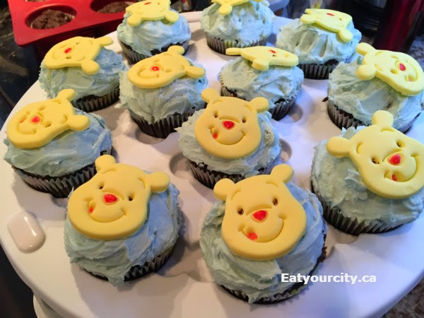 Eat Your City Winnie The Pooh Piglet And Owl Cupcake Decorating
