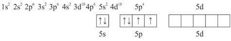 konfigurasi elektron TeF4