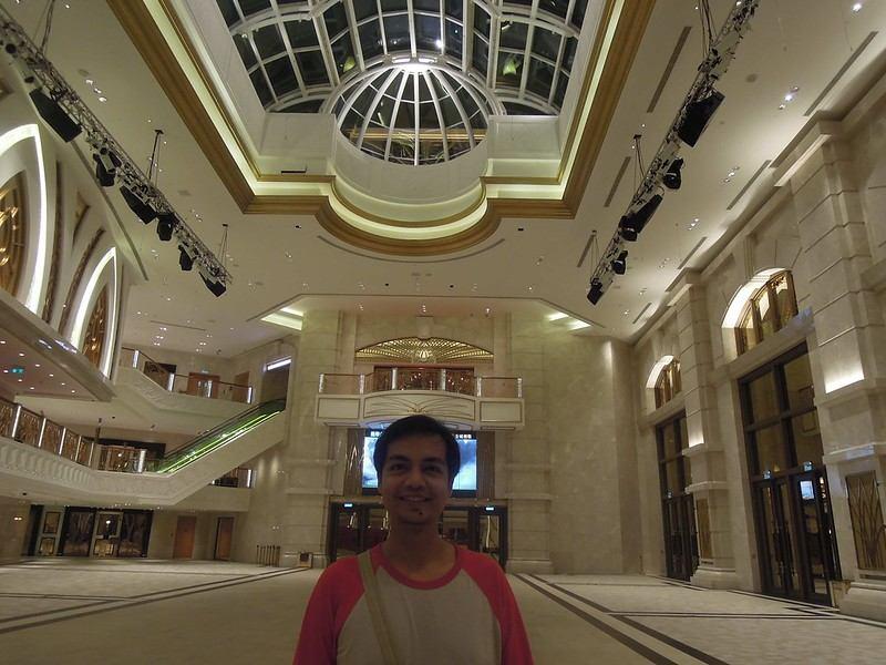 Exploring every corner of The Venetian Macao Resort Hotel