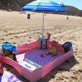 Idea para utilizar con los niños en la playa