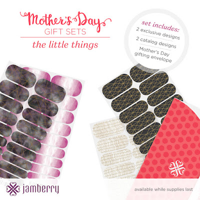 the little things, jamberry, mother's day, gift sets, nail art, nail wraps, exclusive design, jamberry nails, jamberry consultant
