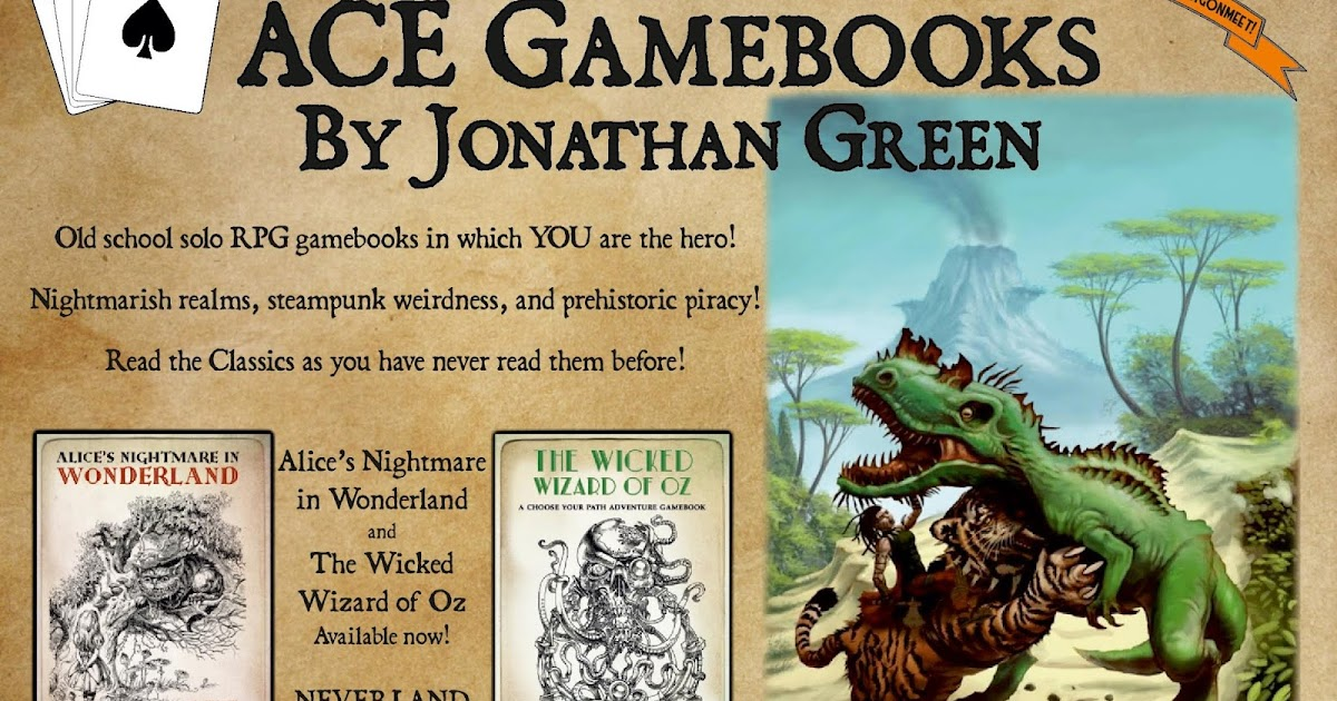 Jonathan Green Author Gamebook Friday Ace Gamebooks At Dragonmeet