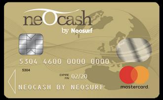 Neosurf cards