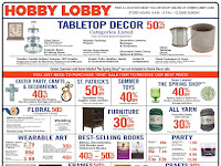 Hobby Lobby Weekly Ad March 17 - March 23, 2019