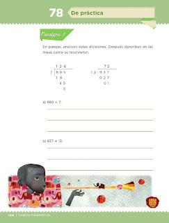 Apoyo Primaria Desafíos Matemáticos 4to. Grado Bloque IV Lección 78 De práctica