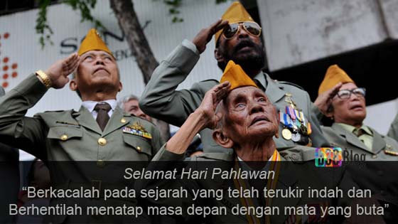 Ucapan Selamat Hari Pahlawan 10 November Terbaru