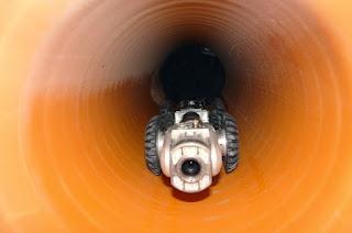 Limpiar las tuberías con agua a presión