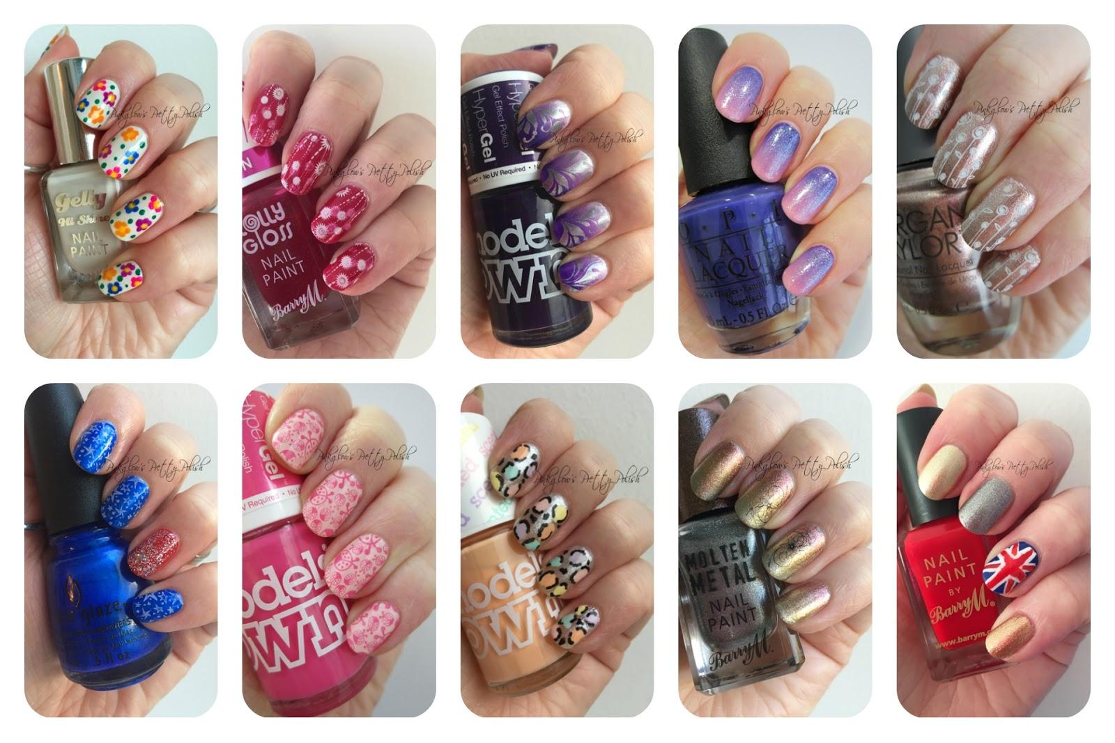 Pinkglows Pretty Polish Uk Nail Art Blog Back From A Blogging Break