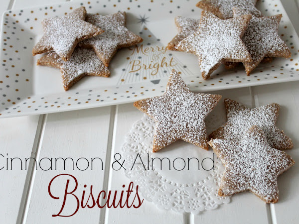 Cinnamon & Almond Biscuits