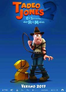 Download Film Tad Jones and the Secret of King Midas (2017) CAMRip Subtitle Indonesia