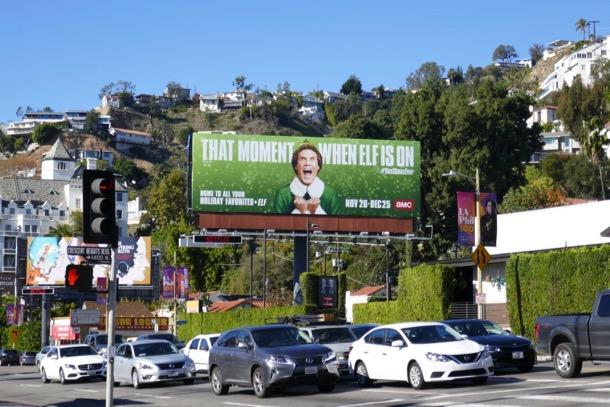 Elf 2018 film billboard