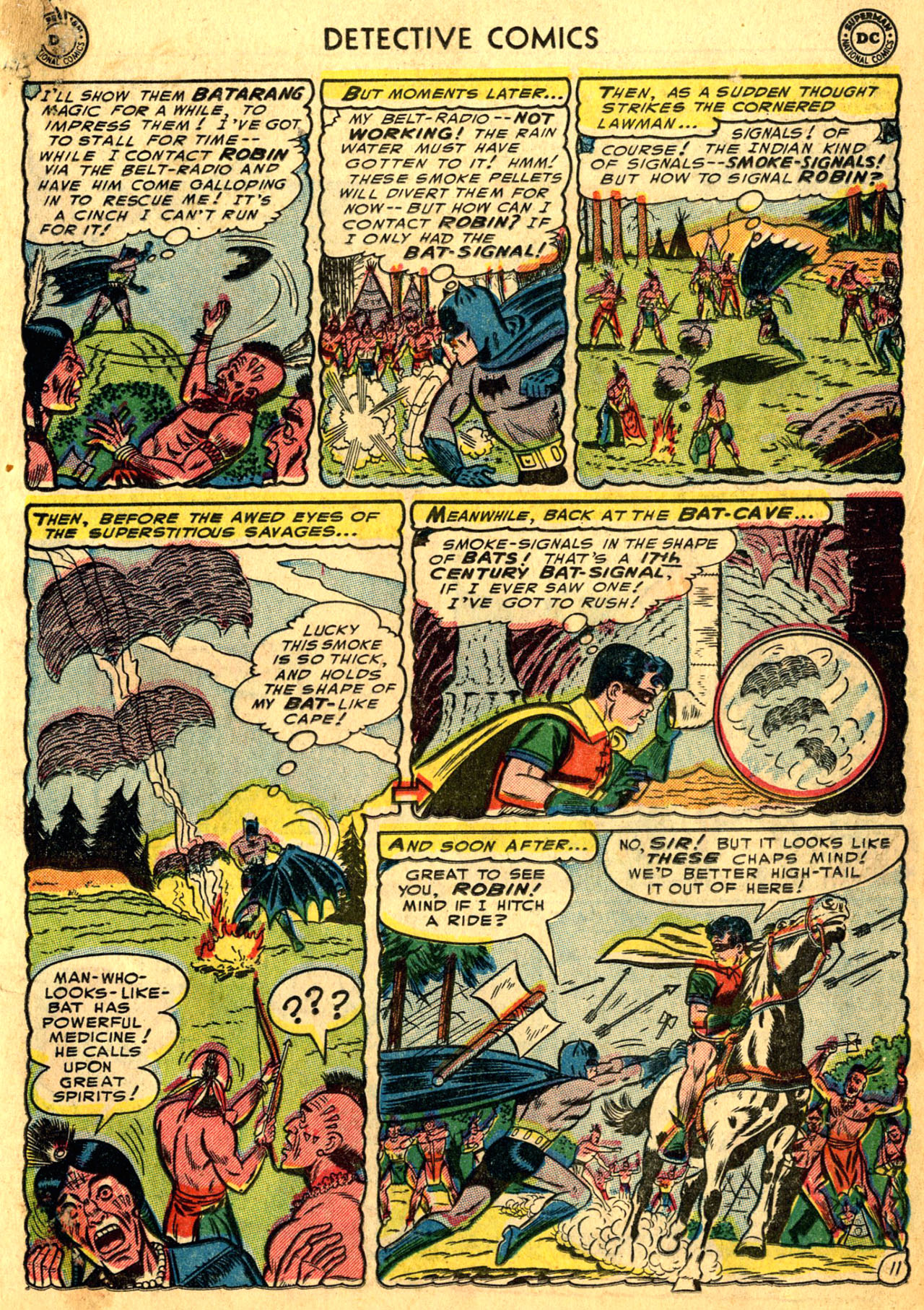 Read online Detective Comics (1937) comic -  Issue #205 - 13