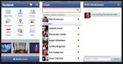 tampilan facebook versi lama
