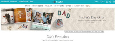 Snapfish Father's Day Gift Ideas