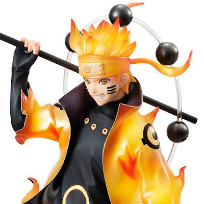 "Figuras: Imágenes y detalles del G.E.M Uzumaki Naruto Rikudo Sennin de ""Naruto Shippuden"" - Megahouse"