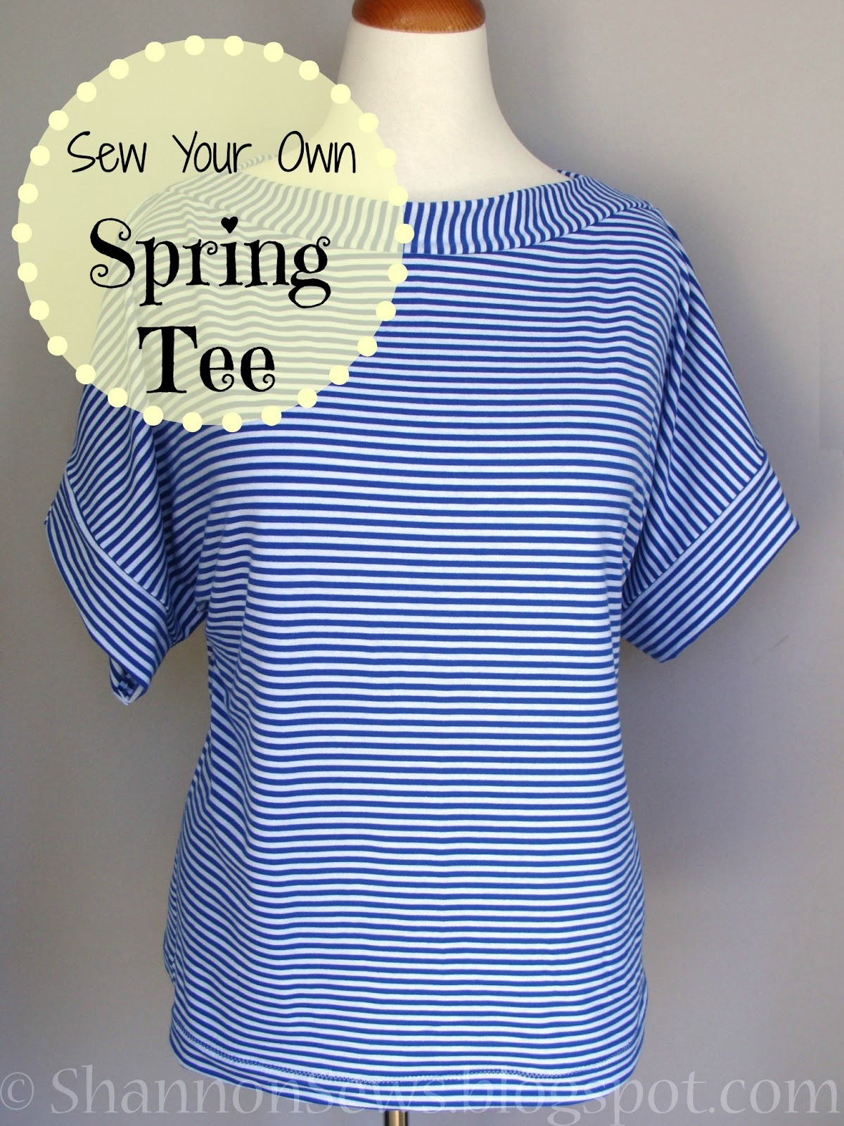 How To Sew Your Own Easy T Shirt