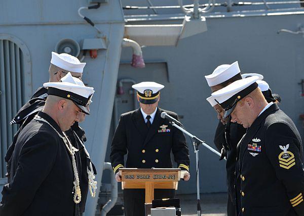 US Navy Honor Guard