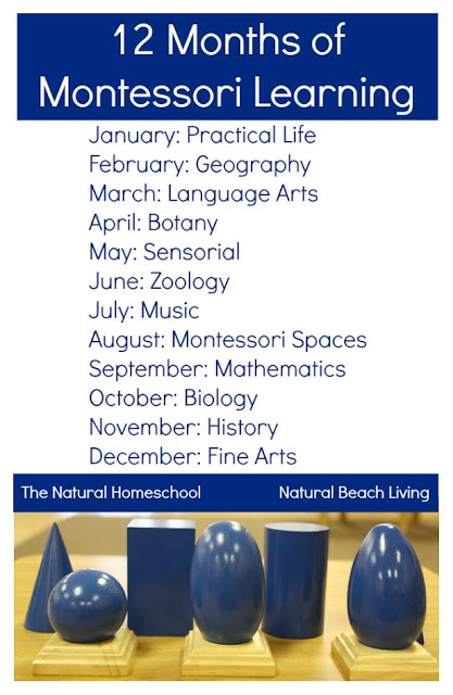 12 Months of Montessori Learning Series