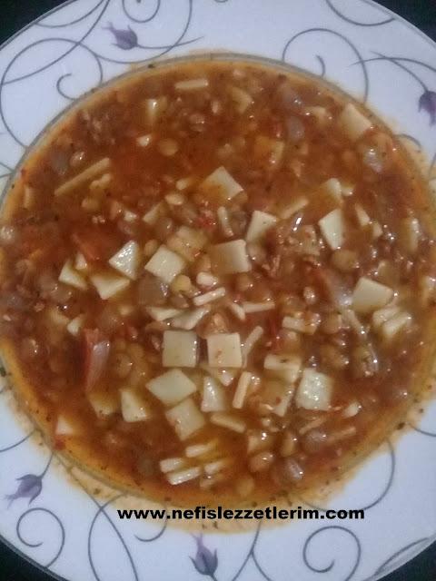 mercimekli çorba