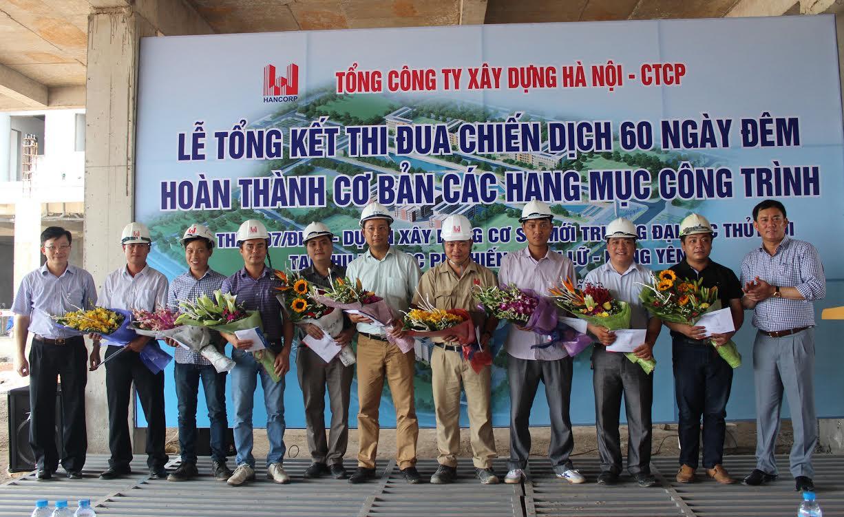 Tổng Công ty Xây dựng Hà Nội – CTCP hoàn thành cơ bản gói thầu 7/ĐHTL trong 60 ngày đêm