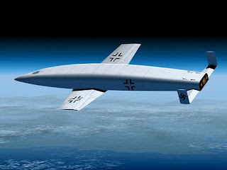 El bombardero suborbital Silbervogel