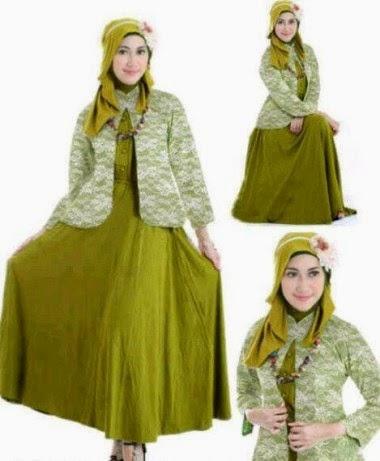 Baju Muslim Remaja Putri yang anggun