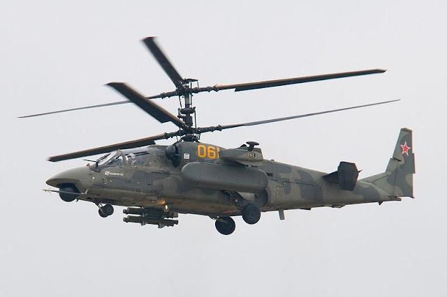 Gambar 03. Foto Helikopter Tempur Kamov Ka-52 Alligator