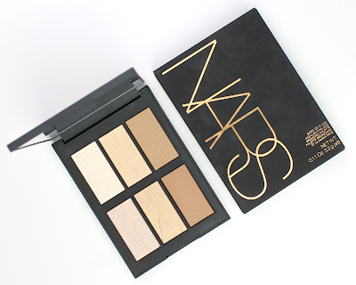 Nars Bord de Plage Highlighting and Bronzing Palette review swatches