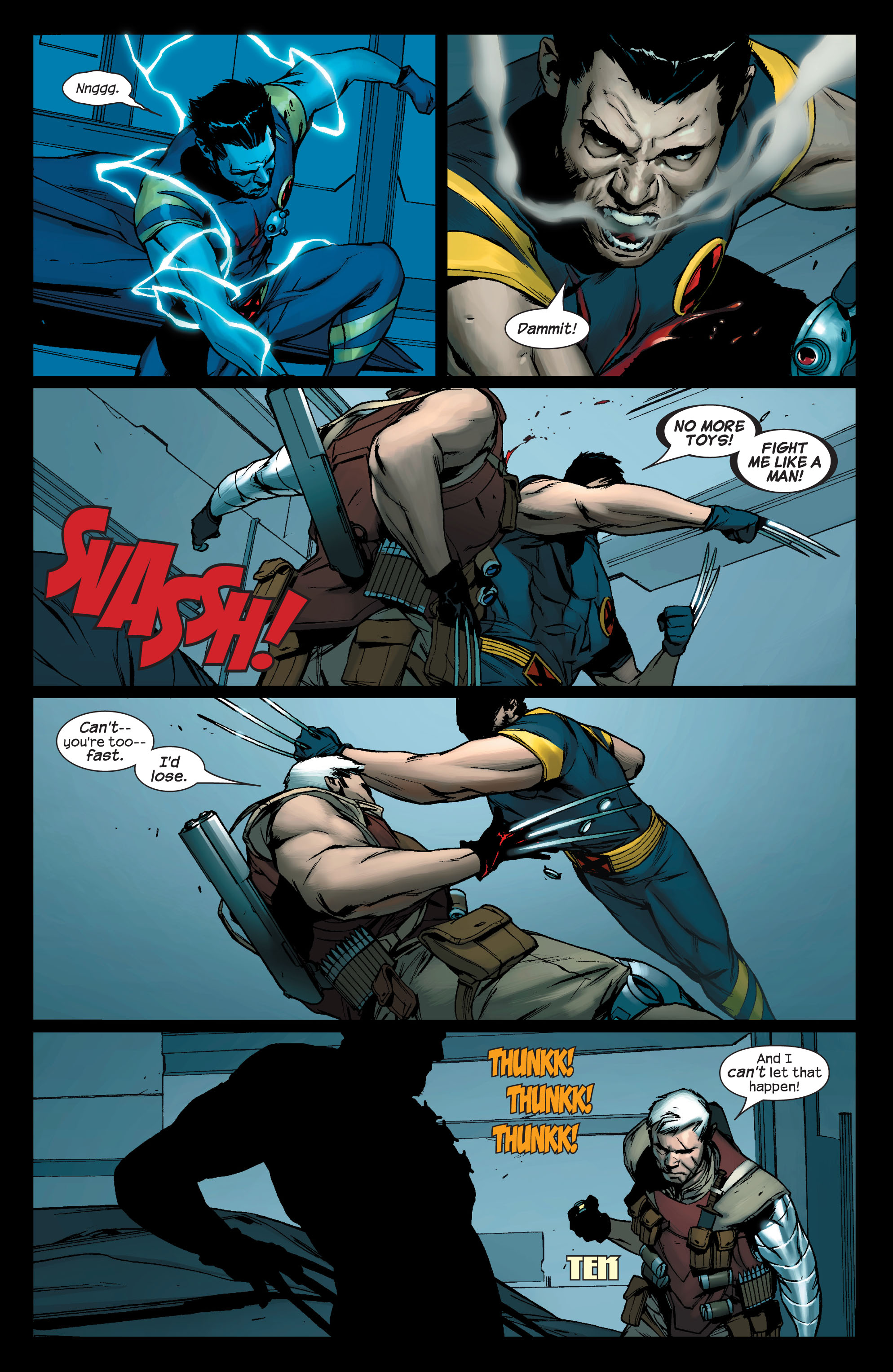Read online Ultimate X-Men comic -  Issue #76 - 6