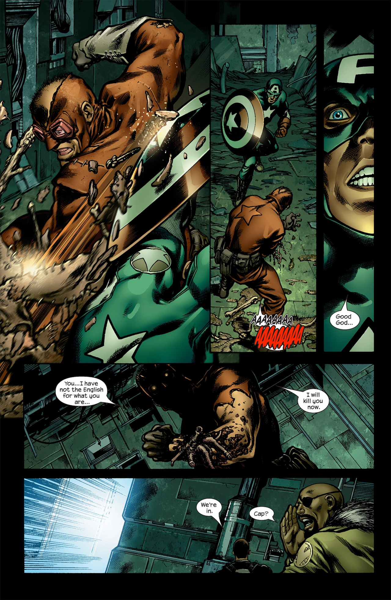 Read online Ultimate Nightmare comic -  Issue #5 - 6