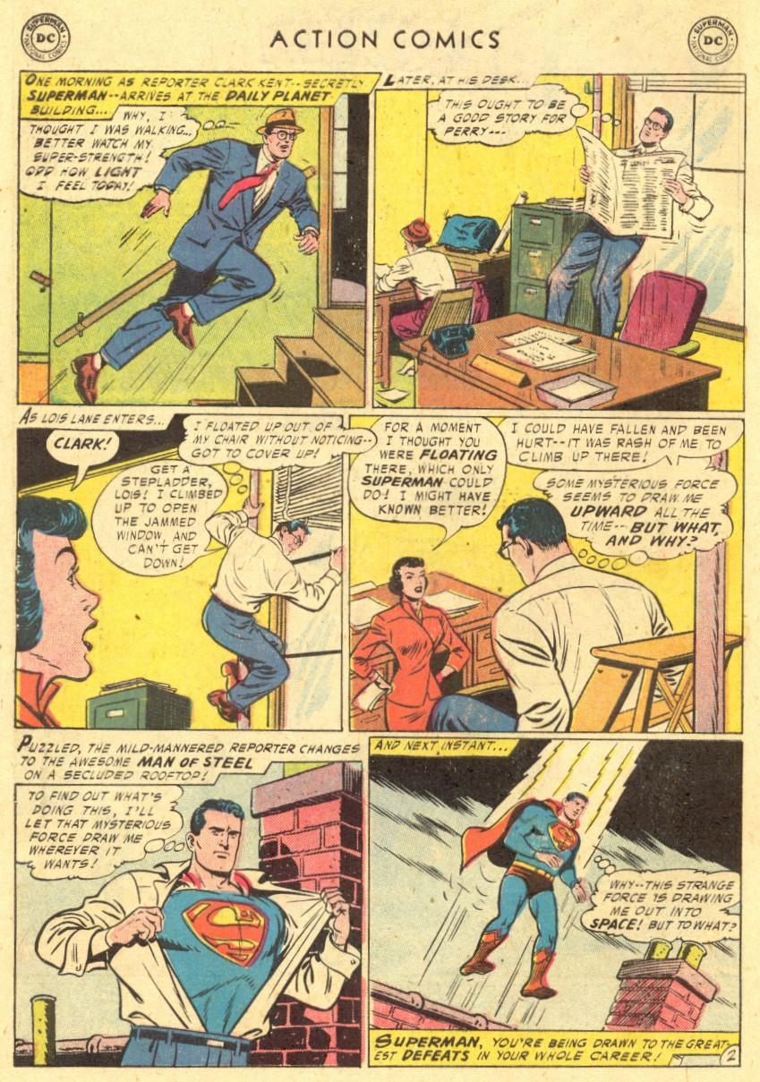 Action Comics (1938) 220 Page 3