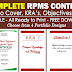 Complete RPMS Portfolio Contents (Cover, KRA's, Objectives, MOV's)