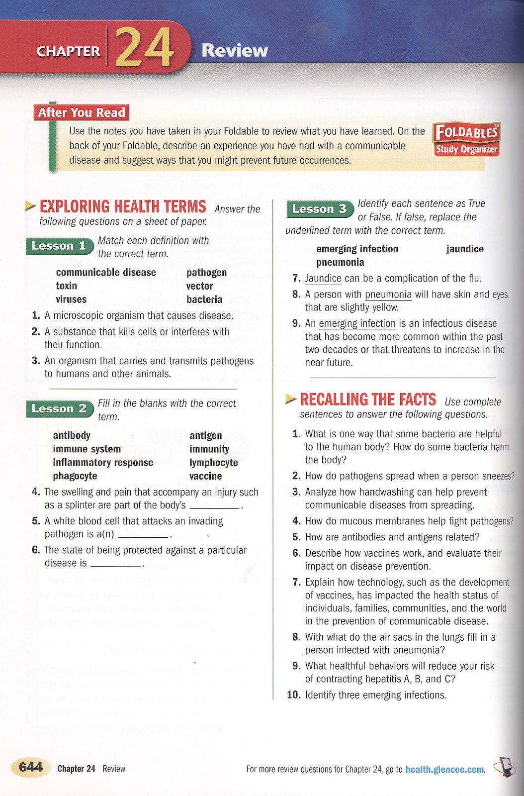Genetic Diseases Worksheet