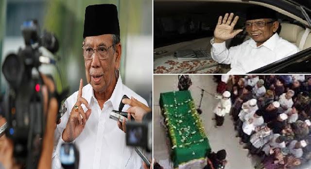 Subhanallah !!!....Tulisan KH Hasyim Muzadi Sebelum Wafat ini Bikin Air Mata Meleleh