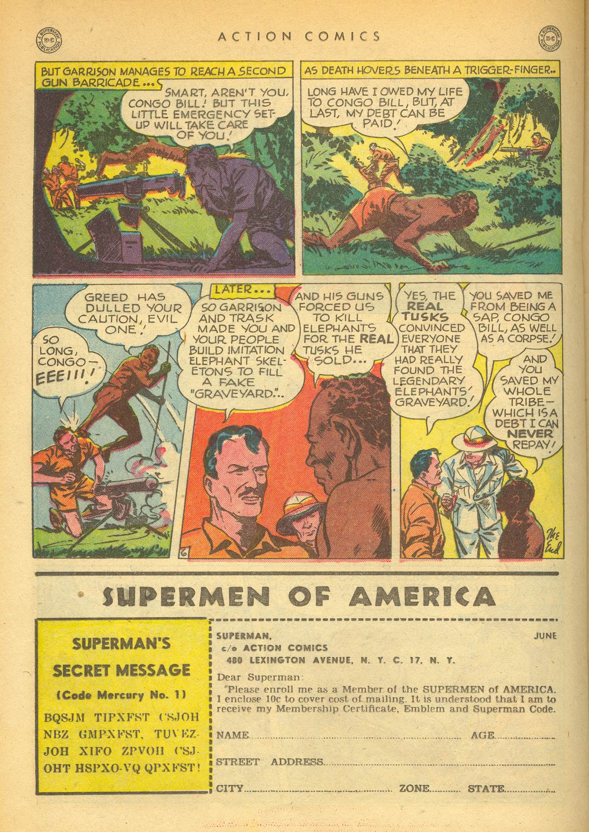 Read online Action Comics (1938) comic -  Issue #109 - 30