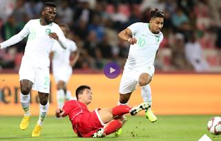 السعودية تقسو على كوريا الشمالية وتفوز برباعية نظيفة  فى كأس أمم آسيا 2019 Saudi Arabia vs North Korea
